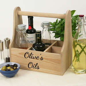 Personalised Kitchen Caddy - storage & organising