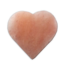 Heart Himalayan Salt Block - salt & pepper pots