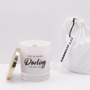 'Life Is Tough' Soy Wax Candle