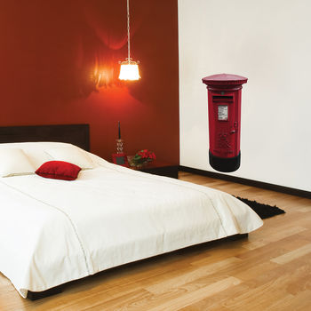 British Post Box Wall Stickers