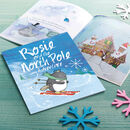 Personalised North Pole Christmas Adventure Book