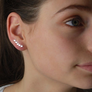 Butterfly Ear Climbers - new in jewellery
