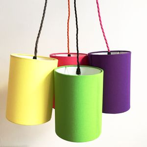 Bespoke Tall Lampshade All Sizes Mix And Match Lining - lampshades