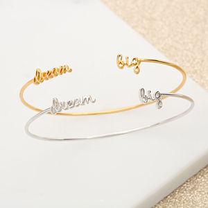 Dream Big Stacking Bangle