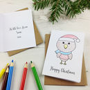 Personalised Colour In Christmas Cards