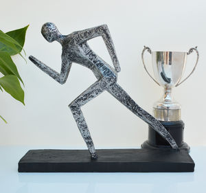 Running Man Sculpture - sculptures