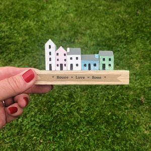 Wooden Handmade Little Street Block
