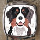 Bernese Mountain Dog Compact Mirror
