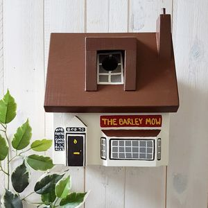 Personalised Pub Bird Box - 50th birthday gifts