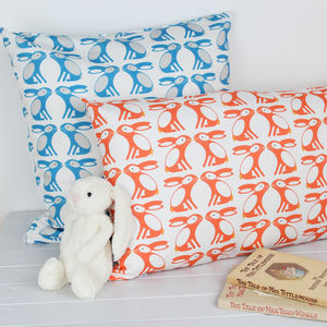 Bunny Pattern Cushion Cover