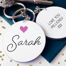 Design Your Own Personalised Christmas Keyring