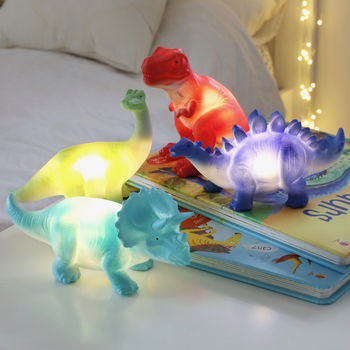 House Of Disaster Mini Dinosaur LED Night Light