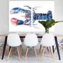 Sir Lobster, Canvas Art