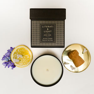 'Jazz Age' Champagne Scented Luxury Soy Candle