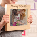 Personalised Mummy And Me Photo Frame