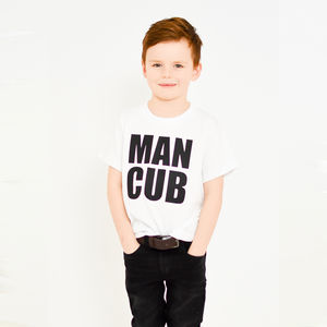 'Man Cub' T Shirt - clothing
