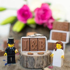 Personalised Chocolate Wedding Favours