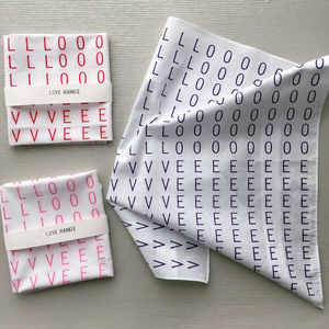 Love Hankie - gifts for him
