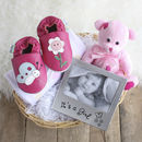 Beautiful Girl New Baby Gift Basket