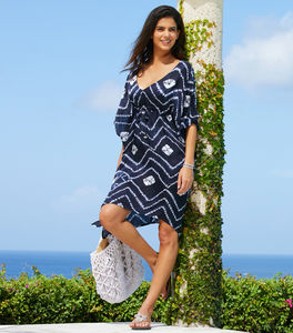 Mykonos Beach Kaftan - women's fashion