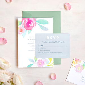 rsvp cards for weddings notonthehighstreet com