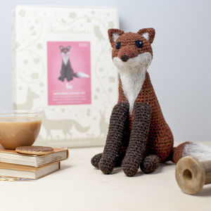 Fox Crochet Craft Kit