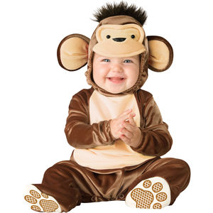 Baby's Monkey Dress Up Costume