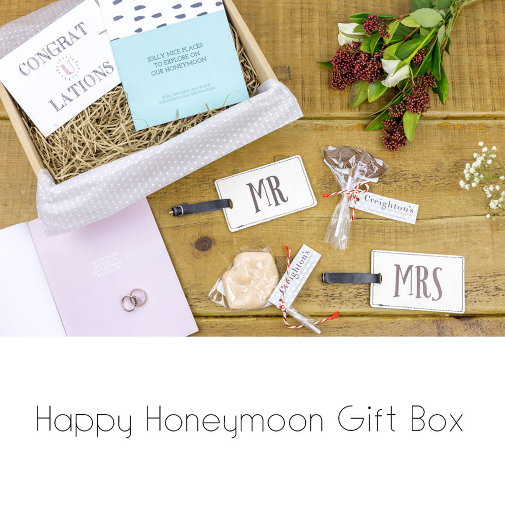 happy honeymoon gift box by izzybee | notonthehighstreet.com