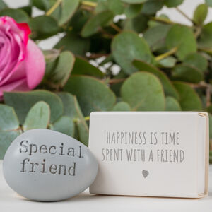 'Special Friend' Message Token Letterbox Gift
