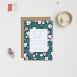 Winter Vine Wedding Invitations - invitations