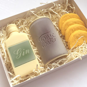 Emergency Chocolate Gin And Tonic Set - chocolates