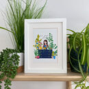 You Grow Girl Illustrated Print