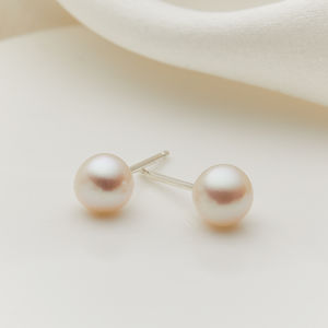 My First Pearl Earrings
