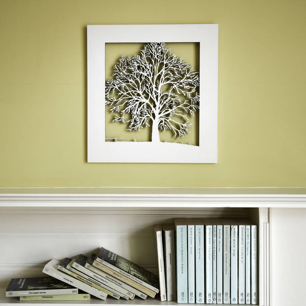 Wooden Tree Wall Art