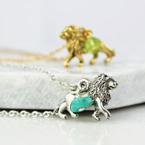 Lion Charm Necklace - children's jewellery