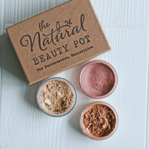 Build Your Own Full Size Mineral Make Up Kit - make-up