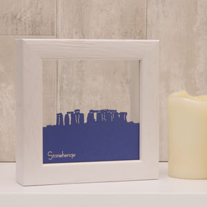 Stonehenge Mini Papercut