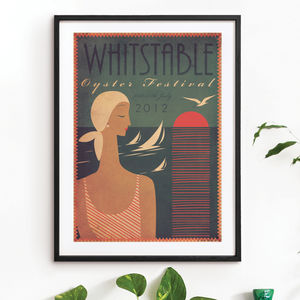'Whitstable Oyster Festival 2012' Art Print