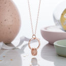 9ct rose gold plate, standard trace chain