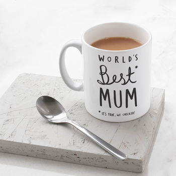Mother's Day World's Best Mum Mug