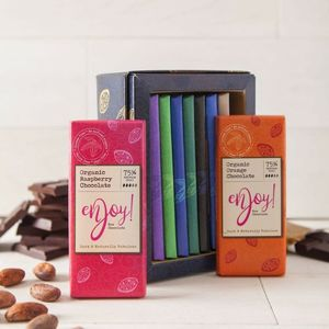 Organic Chocolate Gift Collection - dietary food and drink