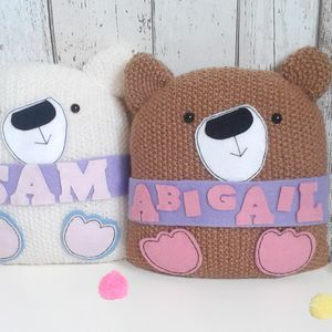 Bear With Me Personalised New Baby Teddy - decorative accessories