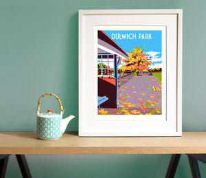Dulwich Park - limited edition art
