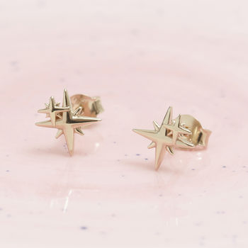 in kors gold tone stud jewelry rose star pink earrings michael lyst