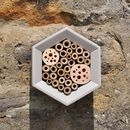 Honeycomb Bee Hotel in Clay Colour