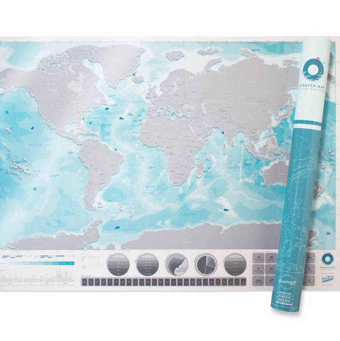scratch off push pin world oceans map bundle by thelittleboysroom