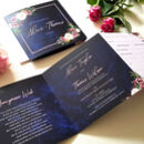 trifold wedding invites