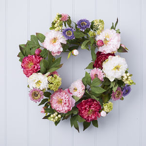 Floral Wreath - flowers, plants & vases