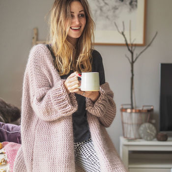 Dreamy Oversized Cardigan Knitting Kit