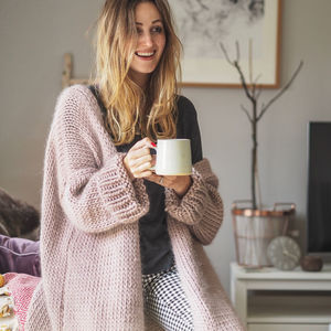 Dreamy Oversized Cardigan Knitting Kit - jumpers & cardigans